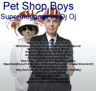 PET SHOP BOYS - Supermegamix (Mixed By Dj Oj)