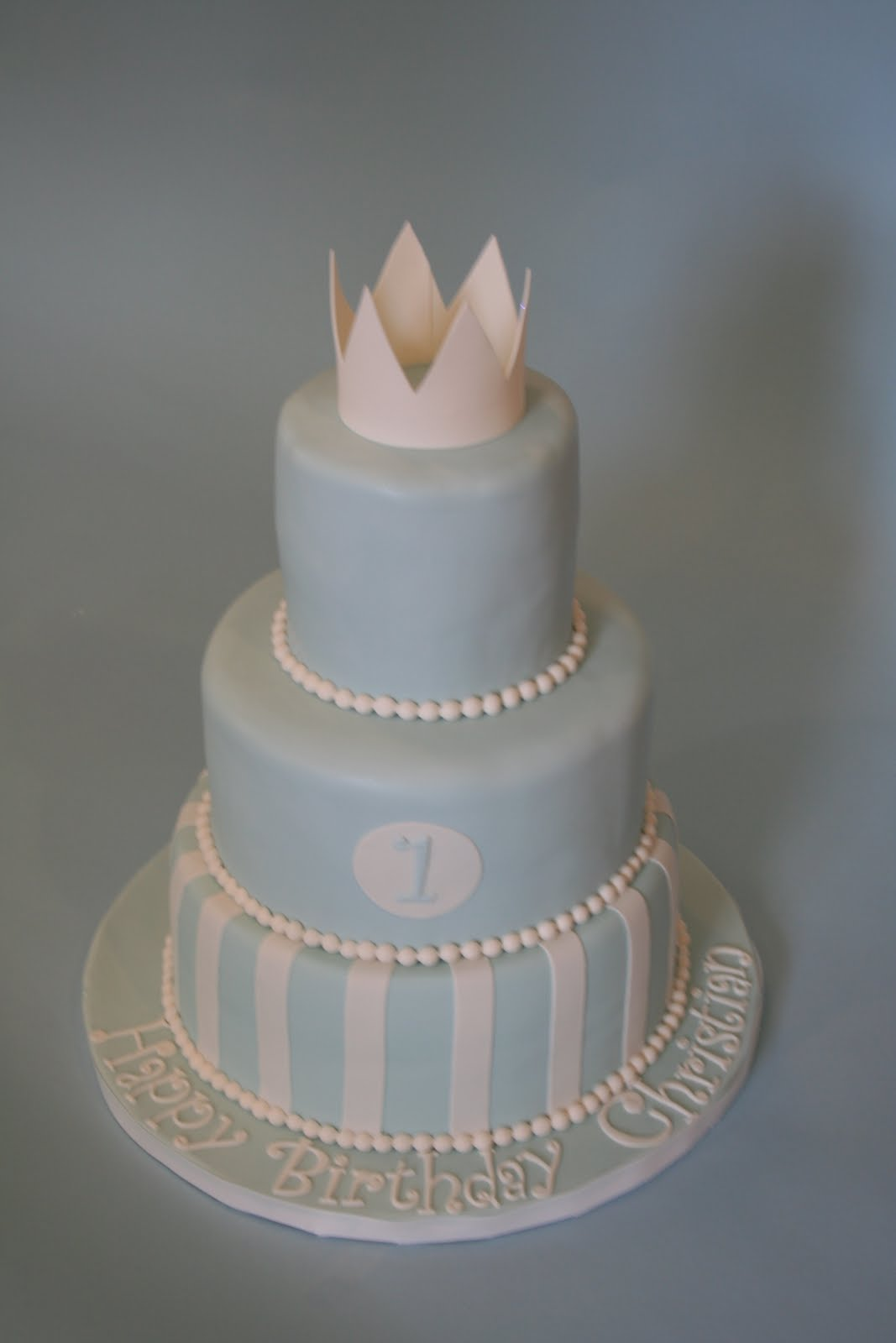"""Sweet Grace Cake Designs """"The Little Prince"""" First"""