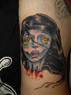 Octattoo Studio Hanibal Tattoo Zombie Girl