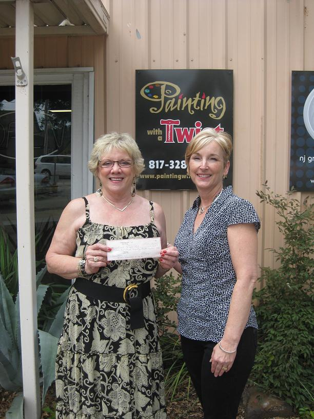 Painting With A Twist In Grapevine Donates 990 To Sos