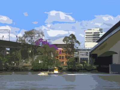 Down by the Brisbane River