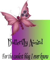 Butterfly Award from Delia and Shaxx