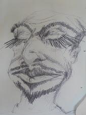Sådan kan du tegne med bløde blyanter.