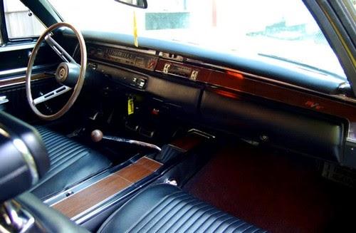 Dodge Super Bee 69 Coronet Interior 4 Speed