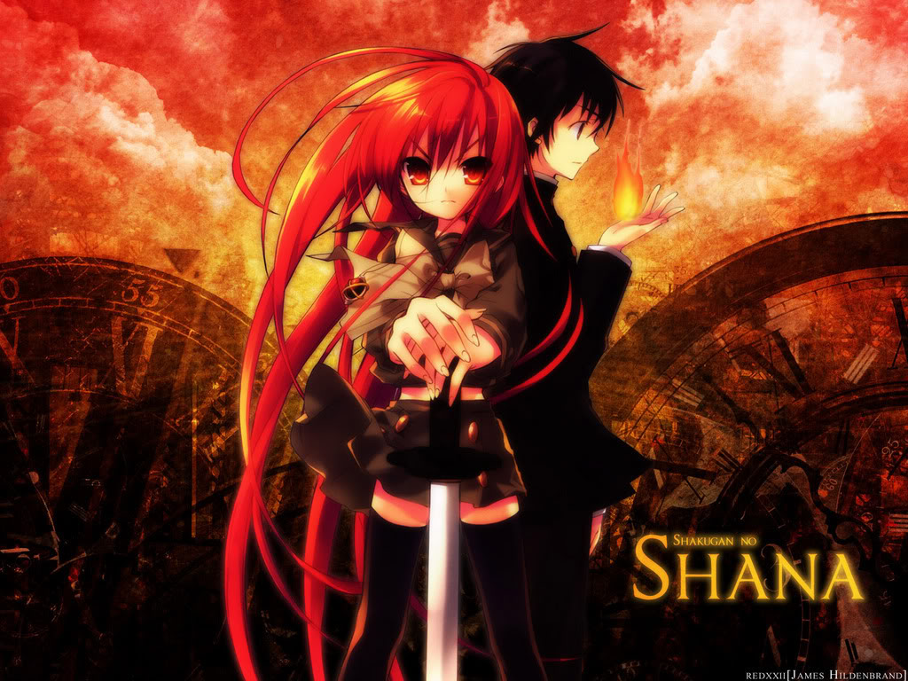 "L'animés / Mangas  du moi est "" Shakugan No Shana"" . Shakugan+no+SHANA"