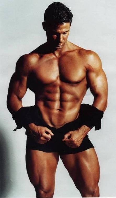 Fitness Model Body Fat 96
