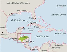 Where's Honduras?