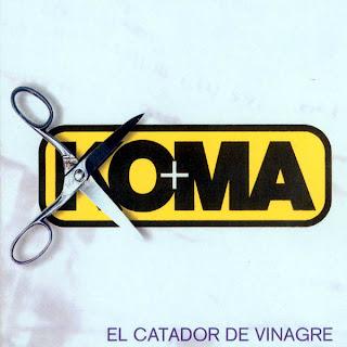Koma - Discografía Koma_-_El_Catador_De_Vinagre_-_front