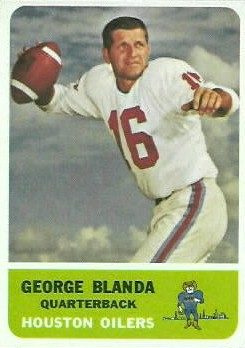HMW: GEORGE BLANDA – A LEGEND IN HIS TIME AND THE OILERS ...