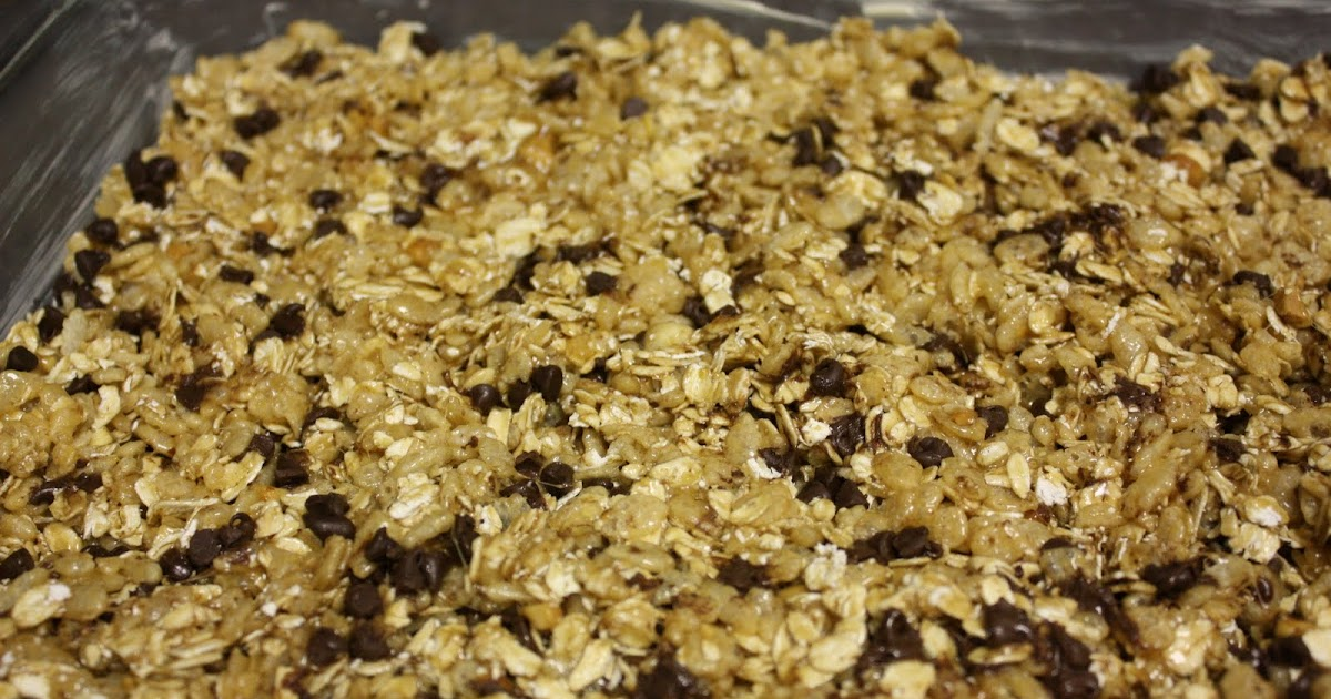 Chocolate Chip Granola Bar Recipe Without Rice Krispies