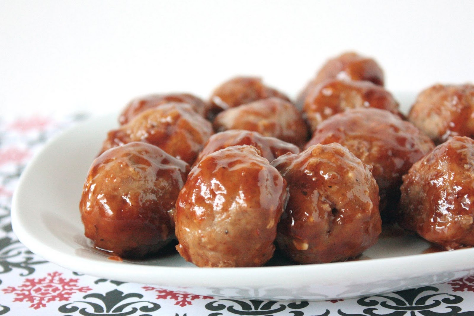 Momma Hen's Kitchen: Simple BBQ Turkey Meatballs