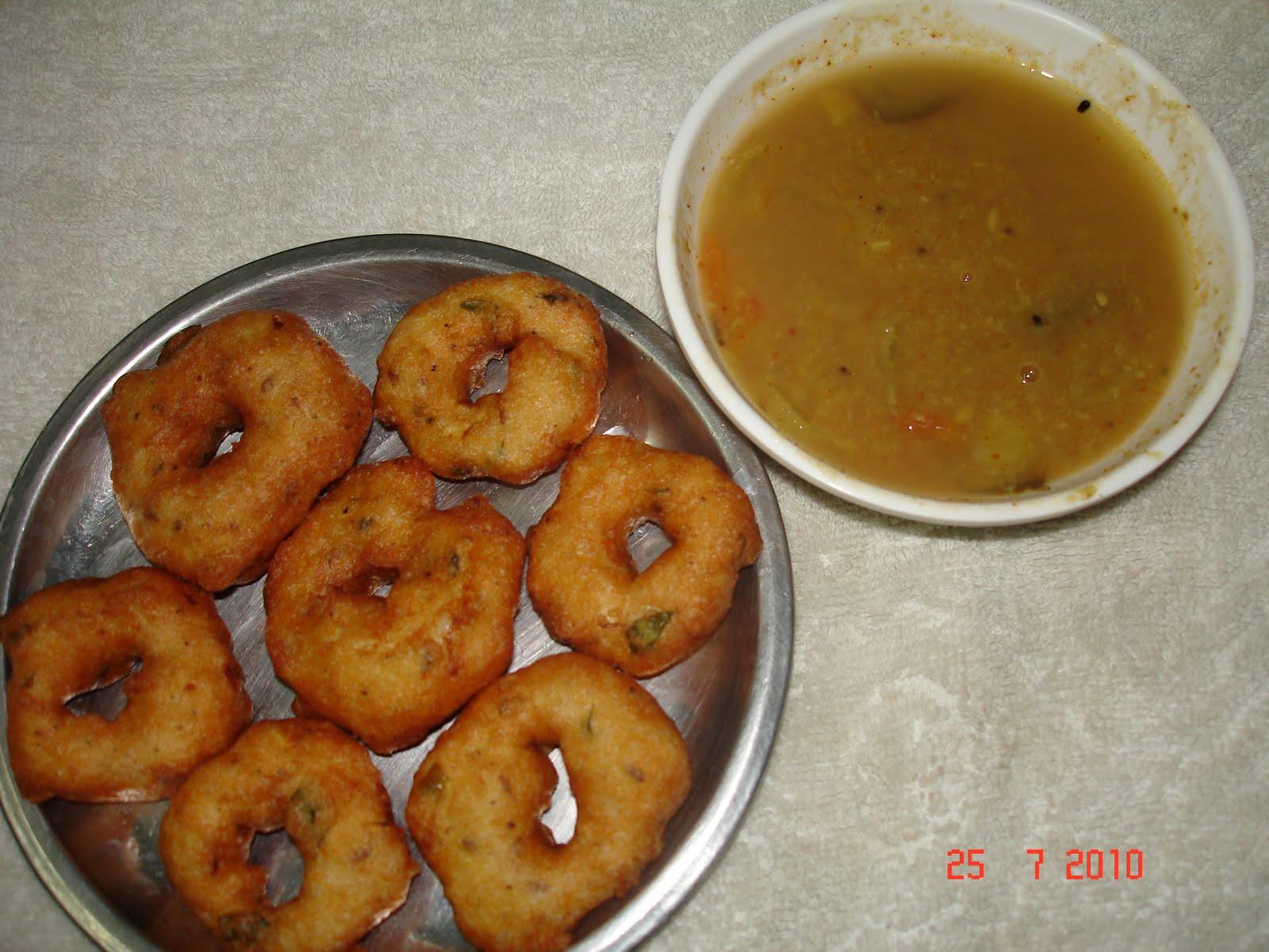 how to prepare medu vada in tamil