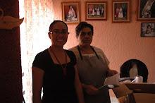 Sra.Gabriela Hernandez y Ariadna Sanchez en Mayo 2009; planeacion de actividades