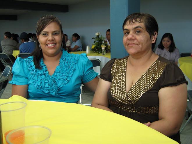 Sra. Wendy Sanchez y Sra. Gabriela Hernandez