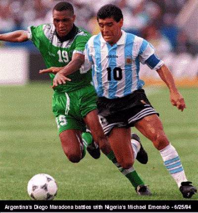 Mundo Albiceleste: Argentina vs. Nigeria - 1994: A Look Back