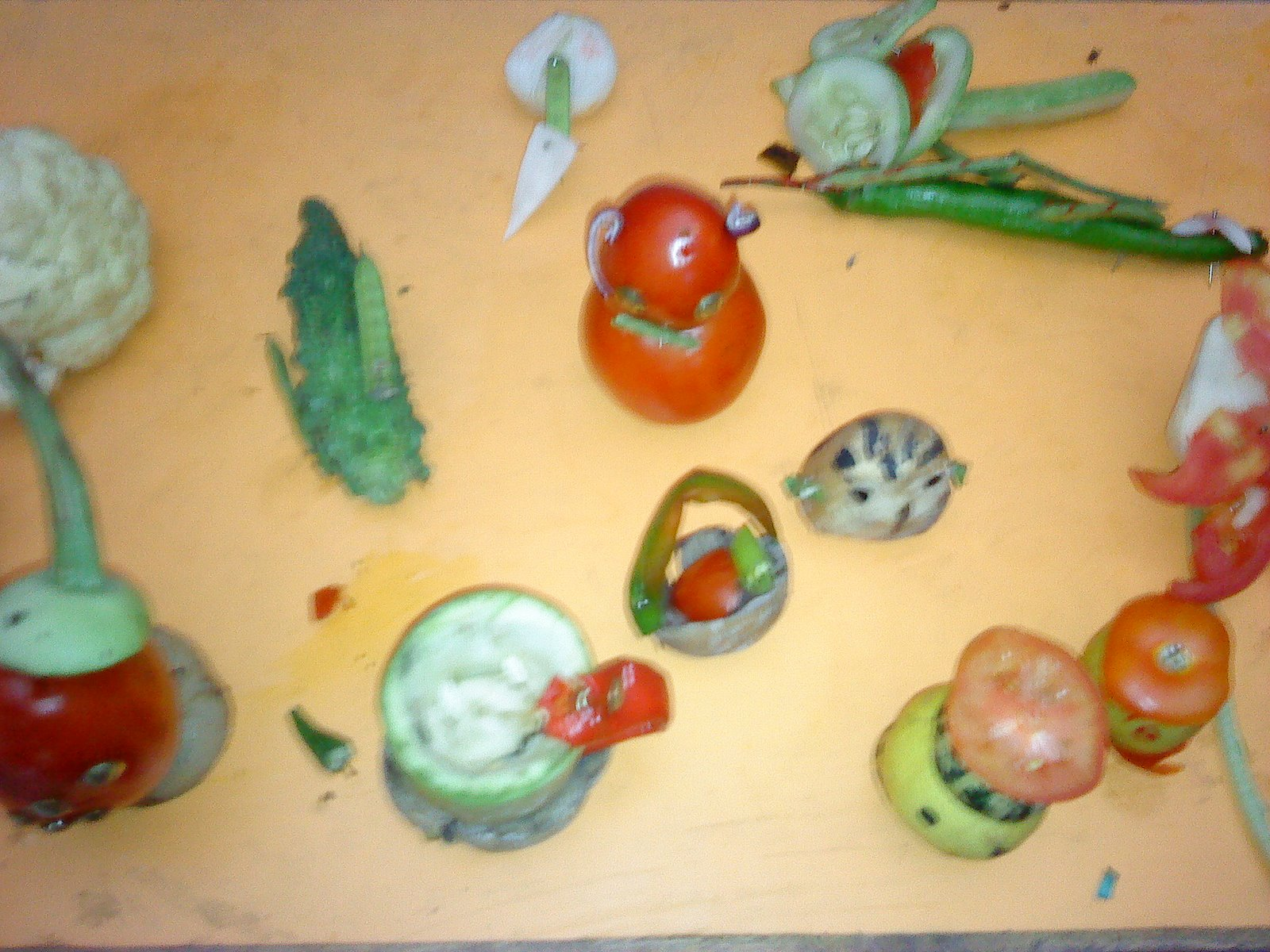 Vegetable carving for competition - Vegetable Carving Activity For Pre Primary