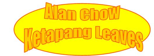 Alan Chow Ketapang Leaves Logo