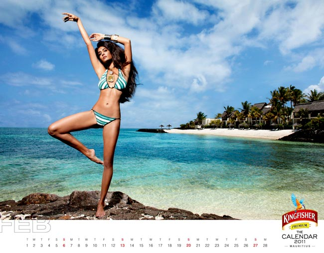 Exclusive Kingfisher 2011 Calendar Pics | PLANET BOLLYWOOD - By Diptesh