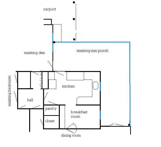 Jane 39 S Home MS Paint Brainstorming On A Floorplan