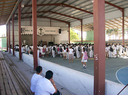 Students Attending a Morning Assembly