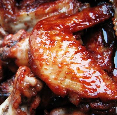 Sam Tan's Kitchen: Sticky Hoisin Roast Chicken Wings