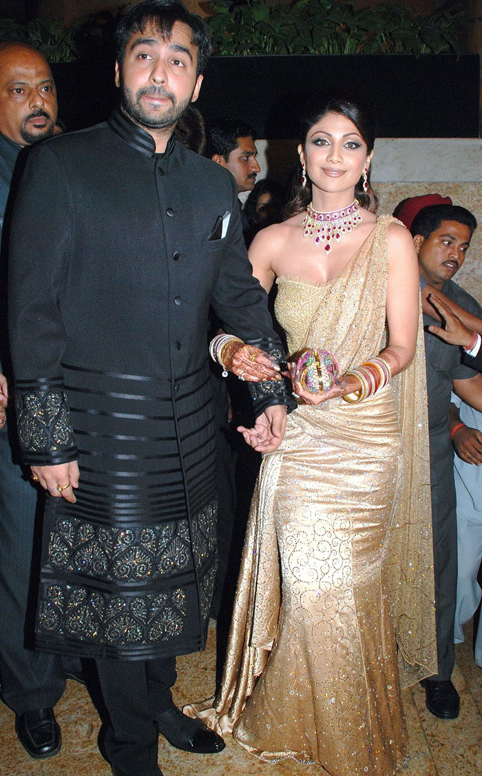 Moviewallpapers Shilpa Shetty Wedding Reception