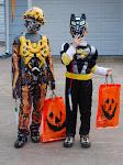 The Boys at Halloween 2009