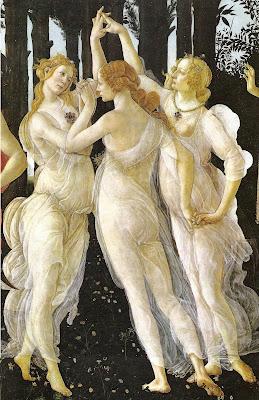 Las Tres Gracias, de Boticelli...