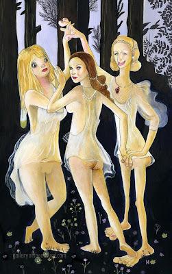 Las Tres Desgracias actuales, Britney Spears, Lindsay Lohan and Paris Hilton...