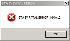 GTA IV Erro.