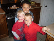 Gavin and cousins Kyle and Cameron