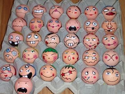 Humor. CUIDADO con los huevos