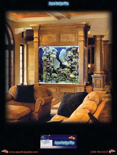 table Furniture fish tank