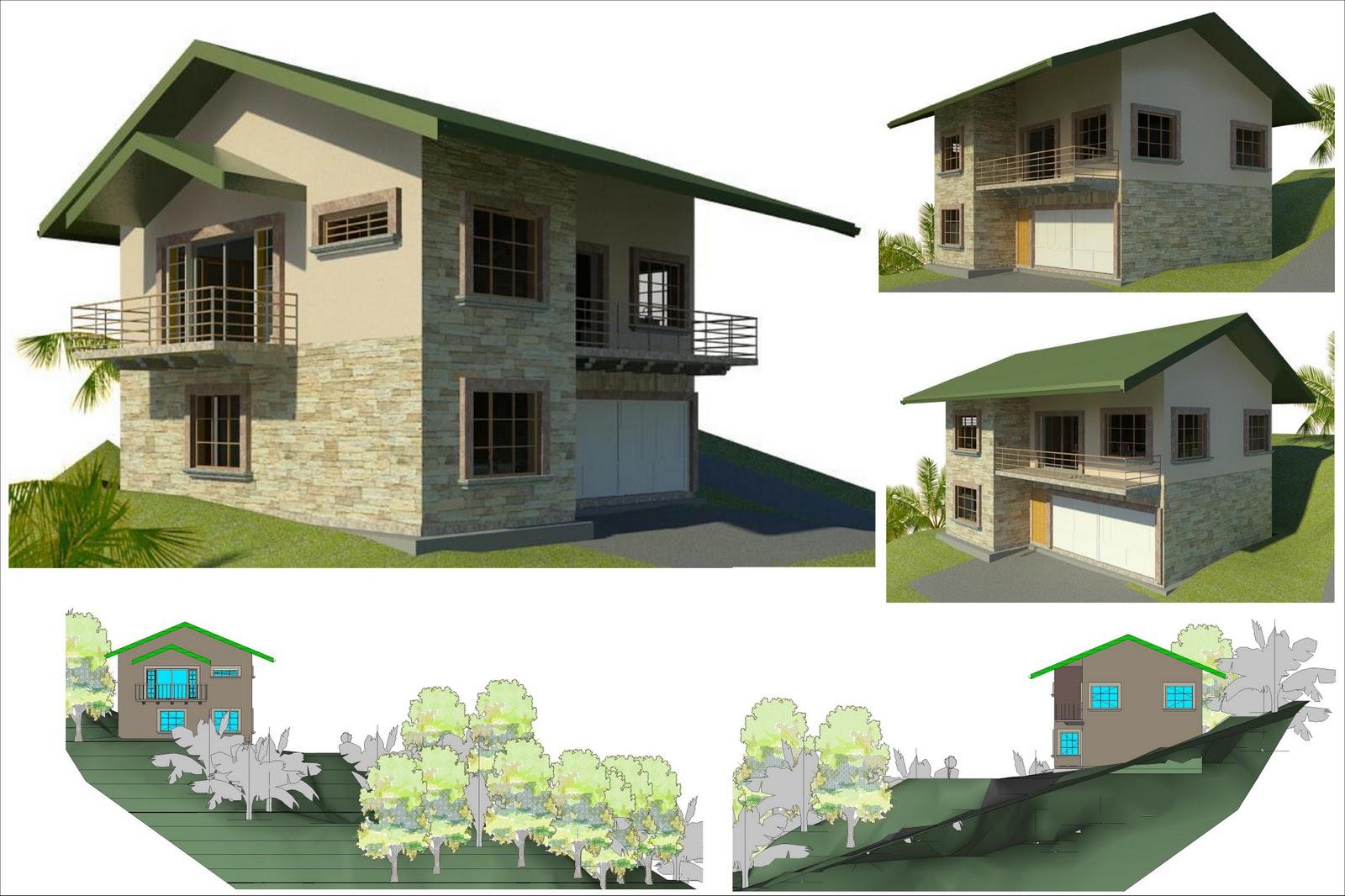 Arquitectura ingenieria proyecto casa habitaci n for Proyecto casa habitacion minimalista
