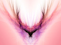 abstract digital painting resembling a blackbird