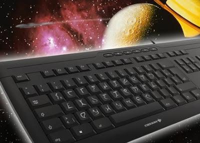 keyboard in Klingon