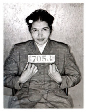 Rosa Parks booking photograph