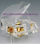 The unfinished story crystal piano music box/ Classical piano music box
