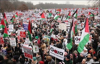 Gaza demo