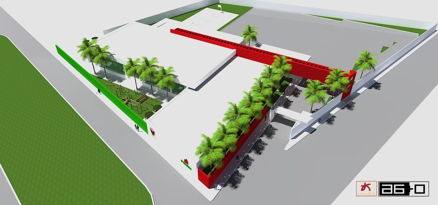 Salon de usos multiples s t p r m salamanca gto for Salon de usos multiples programa arquitectonico