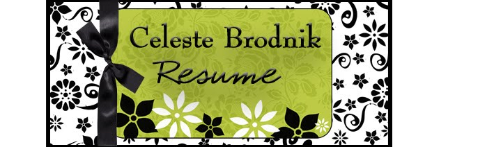 Celeste Brodnik Resume
