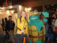 AbbyShot at the Tokyo Anime Fair 2007