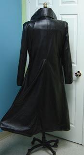 AbbyShot Sephiroth Inspired Trench Coat - Back View