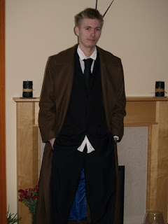 Tenth Doctor Who Coat from AbbyShot - Customer Photo 2