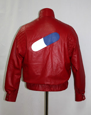 AbbyShot's Akira Inspired Kaneda Jacket - The Pill Jacket! (Back View)