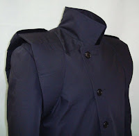 The FOXHOUND Coat from AbbyShot, Inspired by Metal Gear Solid - Closed Coat Closeup