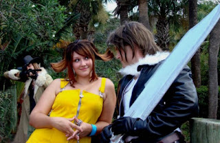 Squall and Selphie chat, but Irvine is not pleased!
