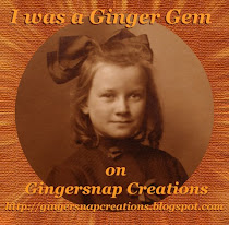 My Ginger Gem Awards