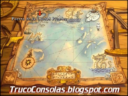 Mapa Barcos MI3