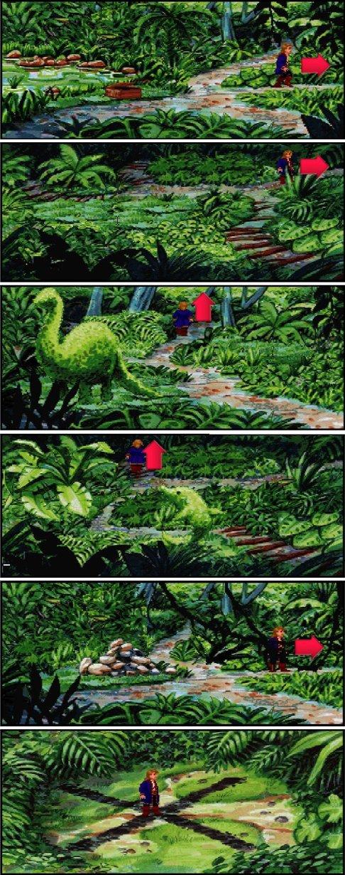 Monkey Island 2 Jungla